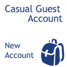 Casual Guest - New Account
