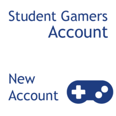 Student Gamers - New Account