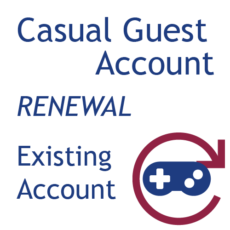 Casual Guest - Account Renewal