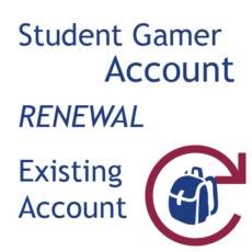 Student Gamers - Account Renewal
