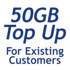 50GB Top Up